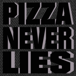 pizza_never_lies Caps & Mützen - Snapback Cap