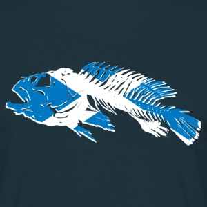 Scotland Fishing Flag T-Shirts - Männer T-Shirt
