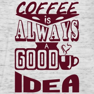 Coffee quote always good idea Tops - Women's Tank Top by Bella