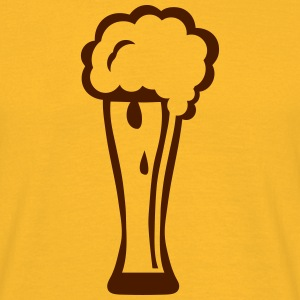 Beer glass foam alcohol 15025 T-Shirts - Men's T-Shirt