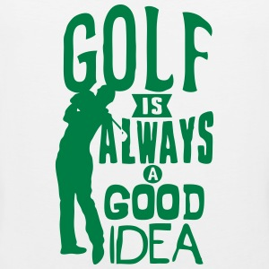 Golf always good idea citation quote Sports wear - Men's Premium Tank Top