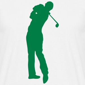Golf swing player 1502 T-Shirts - Men's T-Shirt