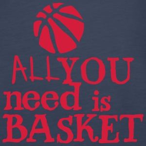 basketball_all_you_need Zitat Ballon Tops - Frauen Premium Tank Top