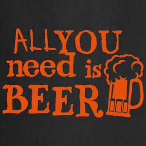Beer all you need citation beer alcohol  Aprons - Cooking Apron