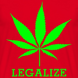 legalize_cannabis T-shirts - Herre-T-shirt