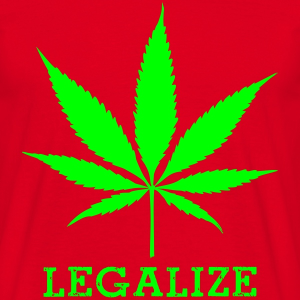 legalize cannabis t-shirt - Men's T-Shirt