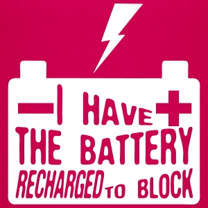 quote i have battery recharged block Shirts - Kids' Premium T-Shirt