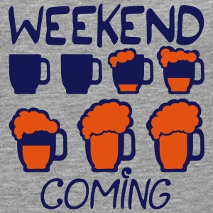 weekend coming biere citation alcool hu8 Manches longues - T-shirt manches longues Premium Homme
