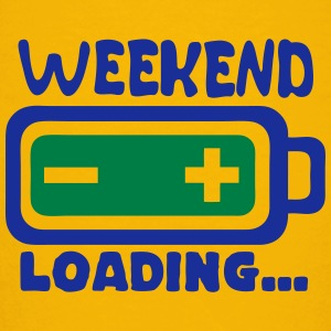 Weekend loading quote battery drums charger Shirts - Kids' Premium T-Shirt