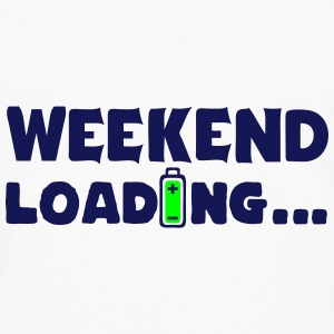 weekend loading citation pile charger 8 Manches longues - T-shirt manches longues Premium Homme