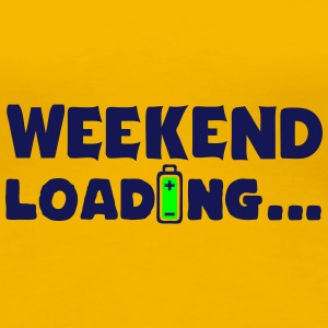 weekend loading citation pile charger 8 Tee shirts - T-shirt Premium Femme