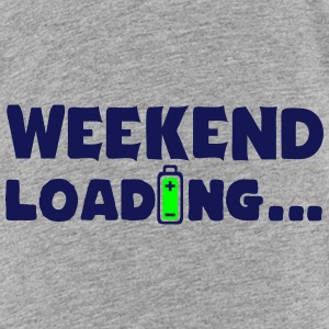 weekend loading Zitat Batterieladung 6 T-Shirts - Kinder Premium T-Shirt