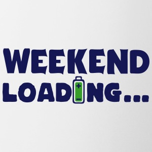 weekend_loading quote drums battery Mugs & Drinkware - Mug