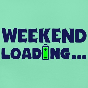 weekend_loading quote drums battery T-Shirts - Women's T-Shirt