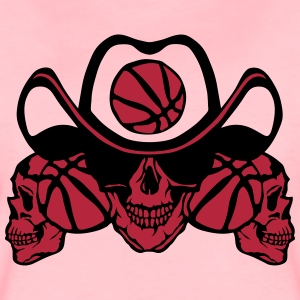 Basketball skull sign chain T-Shirts - Women's Premium T-Shirt