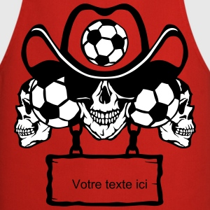 soccer Skull sign chain 8  Aprons - Cooking Apron