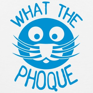 what_the_phoque seal quote insult Sports wear - Men's Premium Tank Top