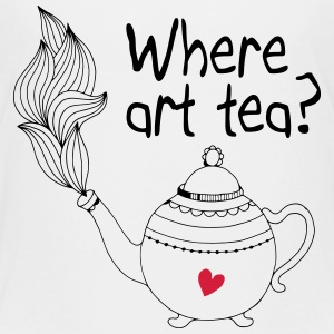 where art tea 2c Shirts - Kids' Premium T-Shirt