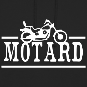 mot motard moto 1302 Sweat-shirts - Sweat-shirt à capuche unisexe