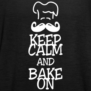 keep calm and bake on Tops - Frauen Tank Top von Bella