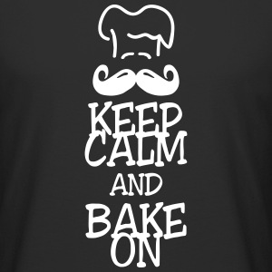 keep calm and bake on T-Shirts - Men's Long Body Urban Tee