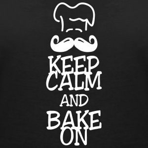 keep calm and bake on T-shirts - Vrouwen T-shirt met V-hals