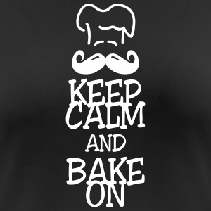 keep calm and bake on T-Shirts - Women's Breathable T-Shirt
