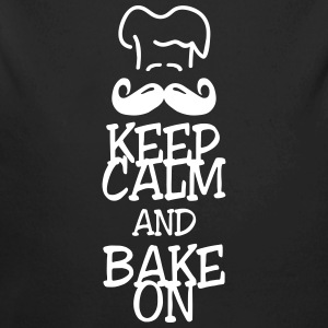 keep calm and bake on Baby body - Baby bio-rompertje met lange mouwen