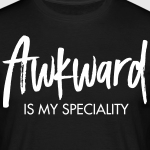 Awkward Is My Speciality Tee shirts - T-shirt Homme