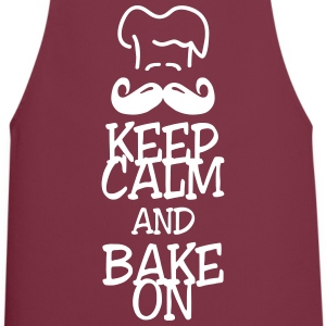 keep calm and bake on Forklær - Kokkeforkle