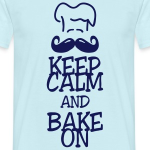 keep calm and bake on Camisetas - Camiseta hombre