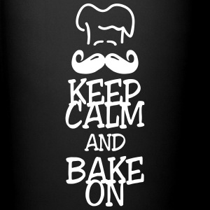 keep calm and bake on Tassen & Zubehör - Tasse einfarbig