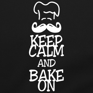 keep calm and bake on Torby i plecaki - Torba na ramię