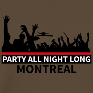 MONTREAL - Party All Night Long - Männer Premium T-Shirt