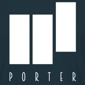PORTER Sign White - Männer T-Shirt