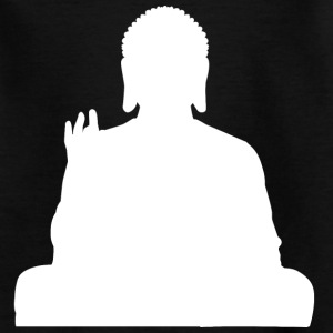 Buddha Statue weiß Buddhismus T-Shirts - Teenager T-Shirt