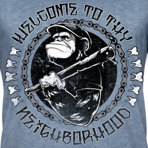 Welcome to the Neighbourhood T-Shirts - Männer Vintage T-Shirt