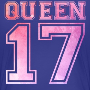 Queen 17 - Wasserfarbe T-Shirts - Frauen Premium T-Shirt