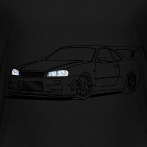 cool car headlights Tee shirts - T-shirt Premium Enfant