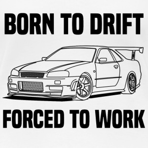 born to drift Tee shirts - T-shirt Premium Femme