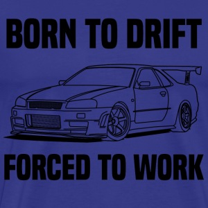born to drift Tee shirts - T-shirt Premium Homme