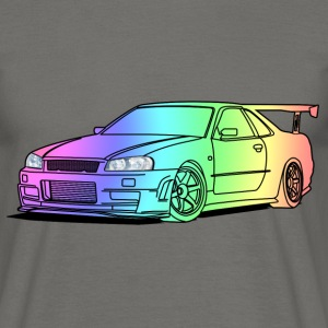 colourful car Tee shirts - T-shirt Homme