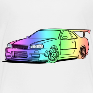 colourful car Tee shirts - T-shirt Premium Enfant