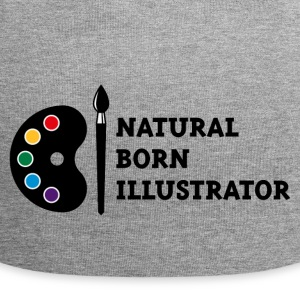 Natural Born Illustrator Caps & Mützen - Jersey-Beanie