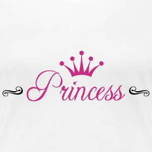 Princess with Crown Tee shirts - T-shirt Premium Femme