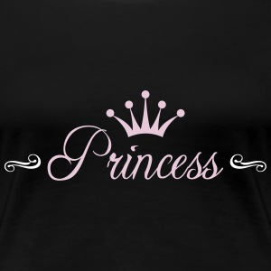 Princess with Crown T-Shirts - Women's Premium T-Shirt