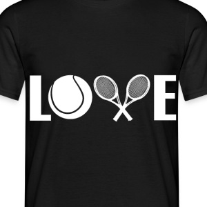 Love Tennis - Männer T-Shirt
