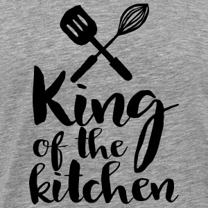king of the kitchen T-shirts - Mannen Premium T-shirt