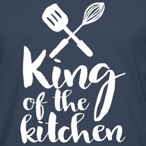 king of the kitchen Long sleeve shirts - Men's Premium Longsleeve Shirt