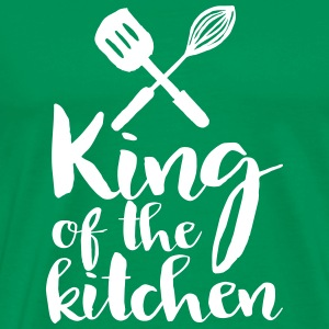 king of the kitchen T-Shirts - Men's Premium T-Shirt